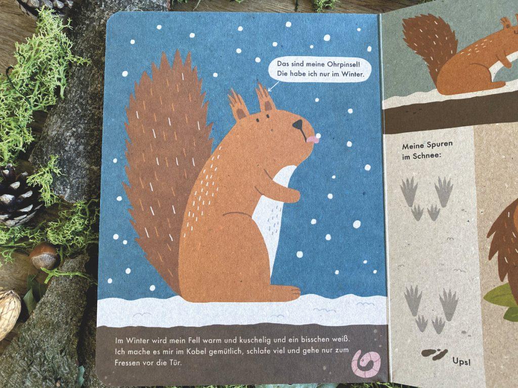 Ich bin das Eichhörnchen 100% Naturbuch