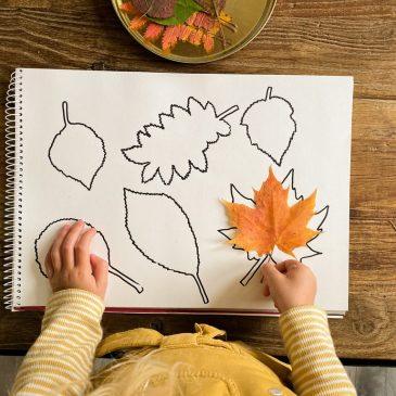 Basteln mit Kindern im Herbst – einfache und schnelle Bastelideen